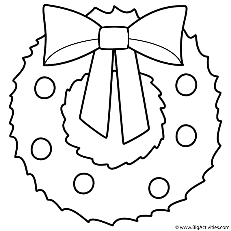Merry Christmas Coloring Pages Printable #5