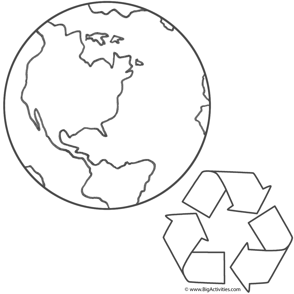 Planet Earth And Recycling