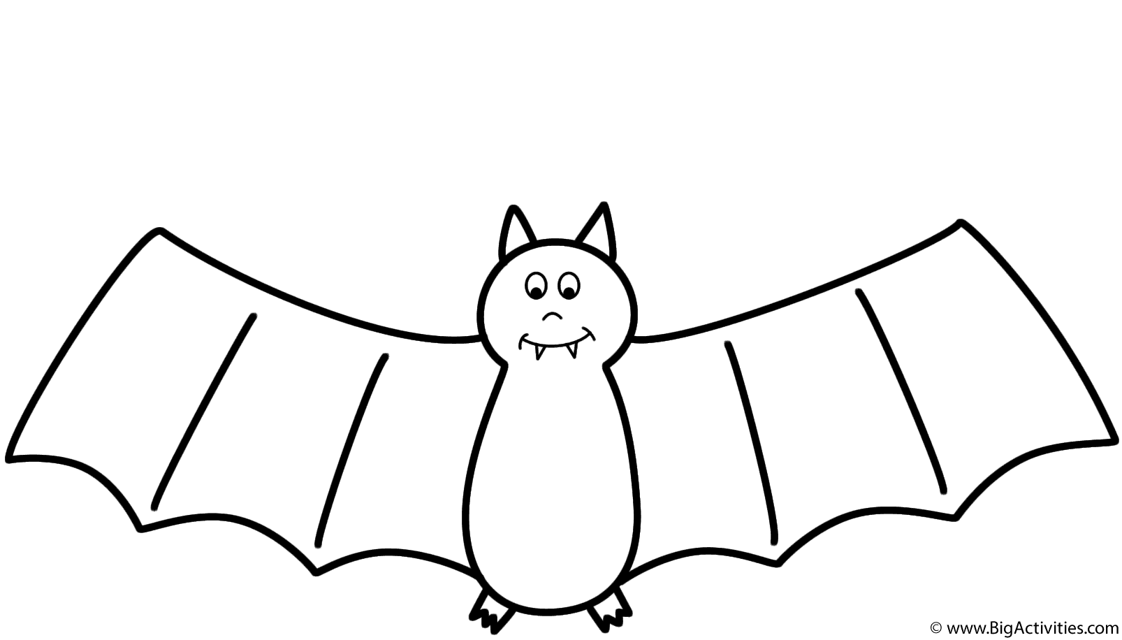 coloring pages bat - bat coloring page halloween