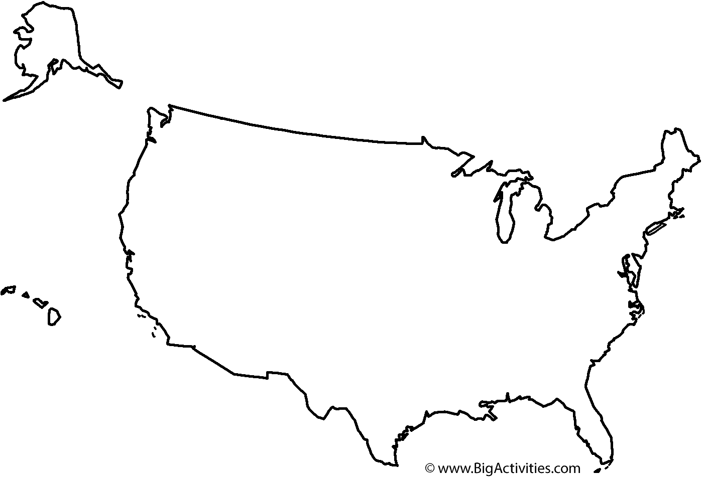 Map Of The United States With Title Coloring Page Presidents Day - Us map by number of presidents