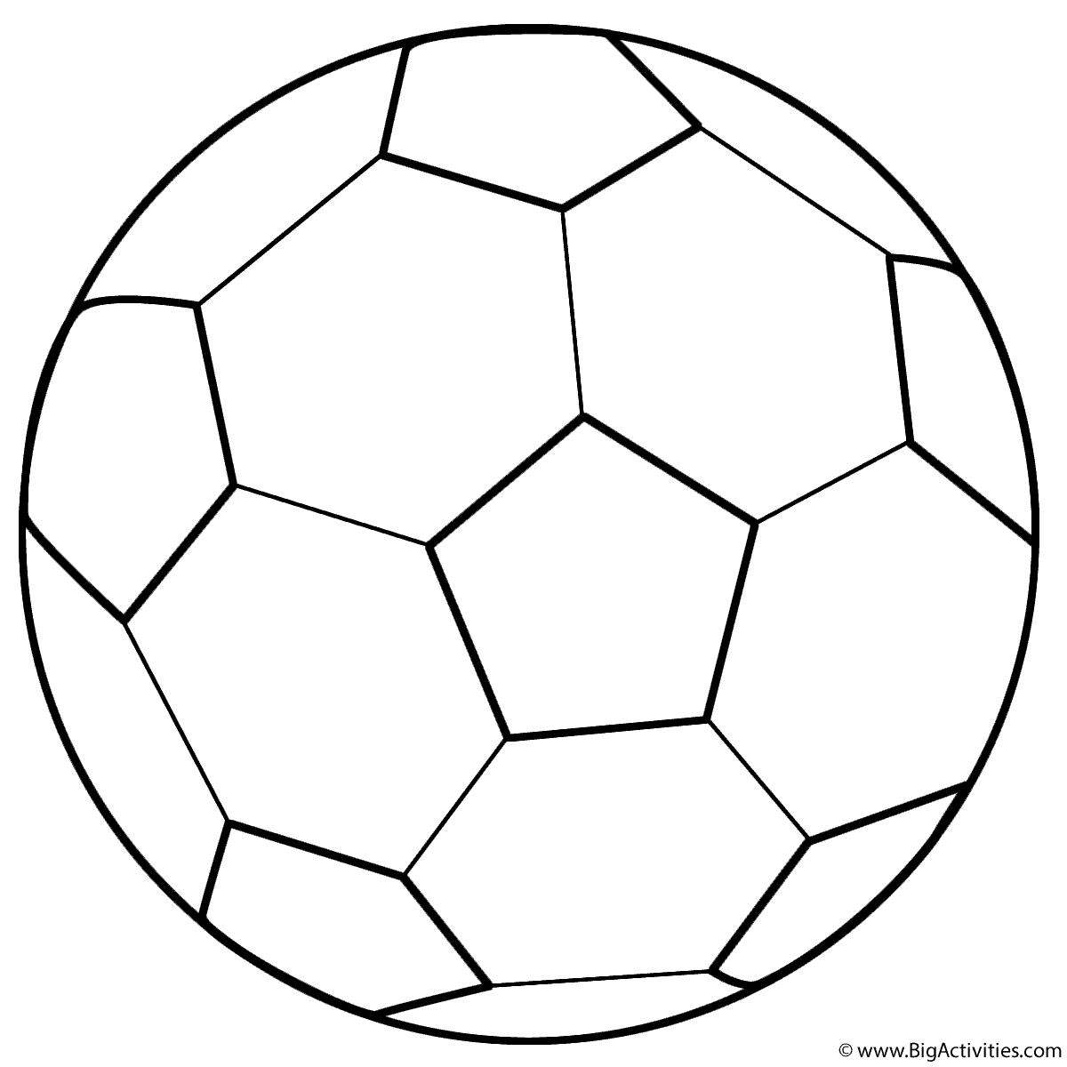 soccer ball coloring page sports. Black Bedroom Furniture Sets. Home Design Ideas