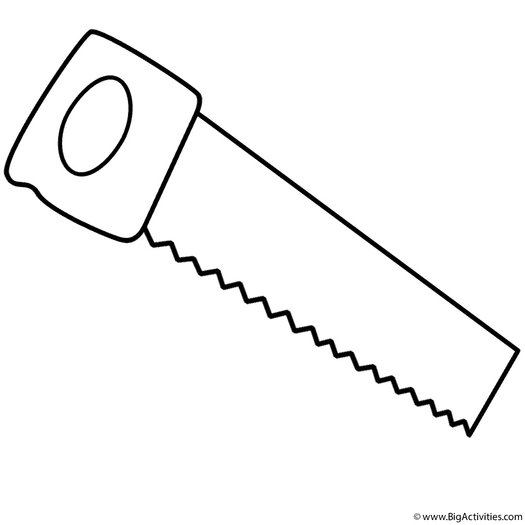 Gardening tool free coloring pages for Tools coloring page