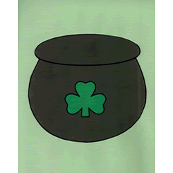 Pot Of Gold Paper Craft Instructions