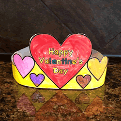 Valentine 39 s Day Hat Paper craft