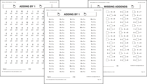 Math Worksheets – Math Printing Worksheets