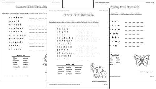photograph about Printable Word Scrambler named Term Scrambles