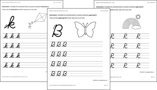 Handwriting Worksheets – Handwriting Worksheet
